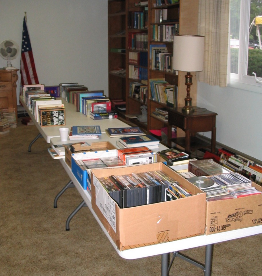 Just a few of the books…