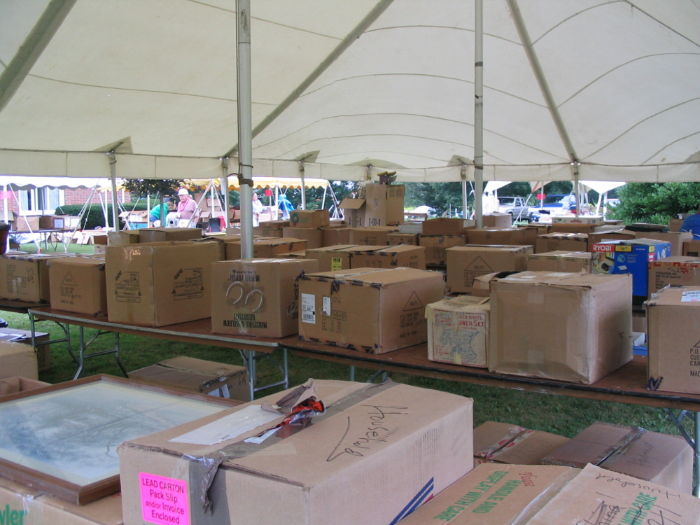 Kitchen and Housewares Tent