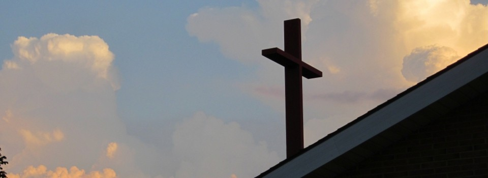 a view of our cross